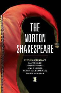 NEW The Norton Shakespeare (Third Edition)  (Vol. One-Volume)