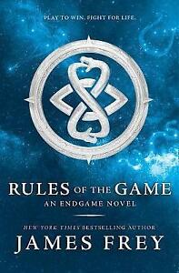 Rules Of The Game-Endgame Hb  BOOK NEW