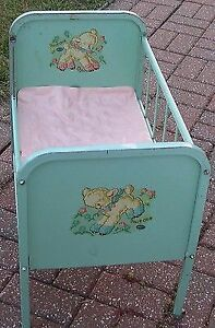 I AM LOOKING FOR A VINTAGE BABY CRIB ,,,THEY WERE MADE SMALL