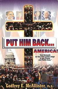 Put Him Back... America, Godfrey E. McAllister