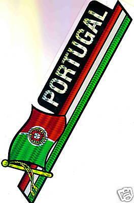 Portugal Flag Bumper Sticker NEW