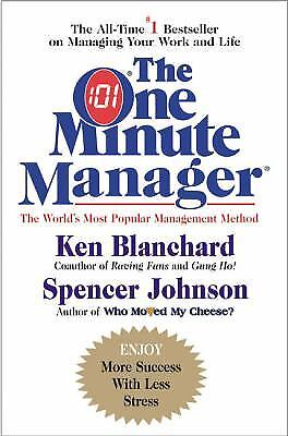 The One Minute Manager By Constance Johnson  Kenneth Blanchard  Spencer Johnson
