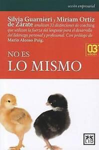 No Es Lo Mismo by Miriam Ortiz, Silvia Guarnieri (Paperback / softback, 2010)