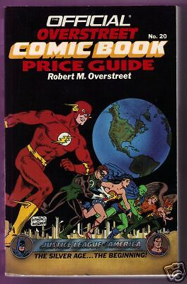 Overstreets Comic Book Price Guide #20 1990-1991 Ed.