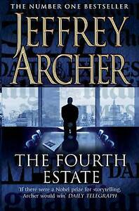 The Fourth Estate BRAND NEW BOOK by Jeffrey Archer (Paperback, 2010)