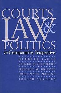 Courts, Law, and Politics in Comparative Perspective-ExLibrary