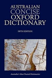 oxford australian concise dictionary 6e
