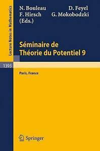 Séminaire de Théorie du Potentiel Paris, No. 9 (Lecture Notes in Mathematics)