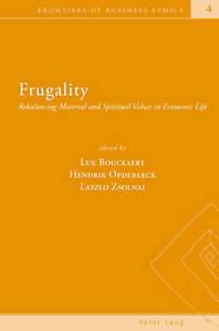 Frugality  9783039111312