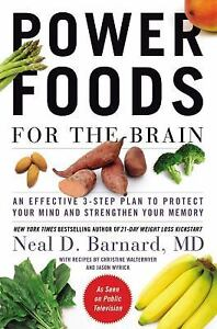 Power Foods for the Brain memory health Protect Your Mind avoid disease NEW