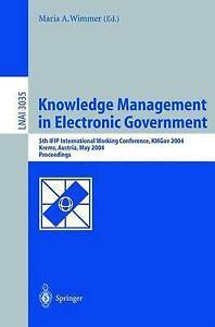 Knowledge Management in Electronic Government: 5th IFIP International Working Co