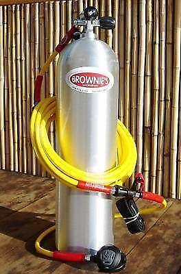 Brownies third lung scuba snorkeling ebay - Floating dive compressor ...