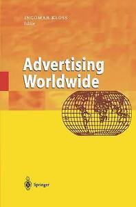 Advertising Worldwide: Advertising Conditions in Selected Countries-ExLibrary