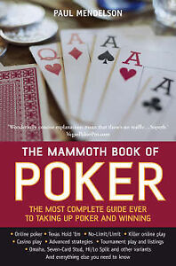 The-Mammoth-Book-of-Poker-Paul-Mendelson-Used-Good-Book