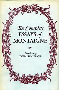 montaigne essays summary details about michel de montaigne twenty nine essays franklin library