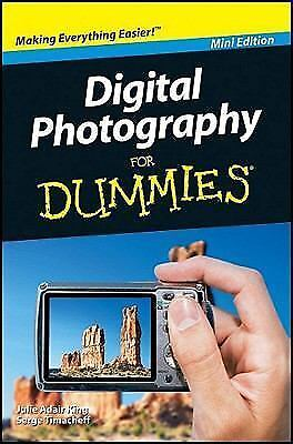 Camera New Digital Photography for Dummies Tips, Basics Mini Edition -FREE SHIP 1