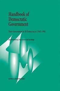 Handbook of Democratic Government: Party Government in 20 Democracies (1945-199
