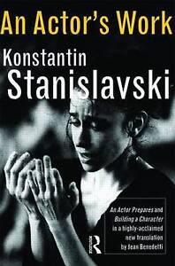 An Actor's Work by Konstantin Stanislavski ..VGC
