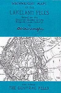 Wainwright Maps of the Lakeland Fells von Alfred Wainwright (2000, Karte)