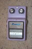 vintage 1981 Ibanez CS9 Stereo Chorus Effect Pedal Made In Japan