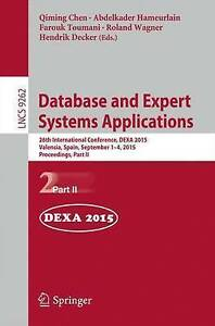 Database and Expert Systems Applications: 26th International Conference, DEXA 20