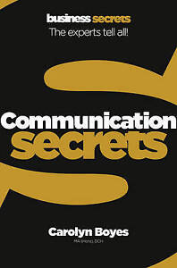 Communication-Collins-Business-Secrets-by-Carolyn-Boyes-Paperback-2010