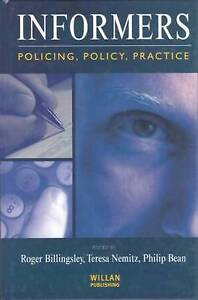 Informers: Policing, policy, practice-ExLibrary