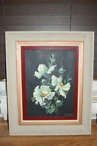 Acrylic Painting Signed Kay Smith