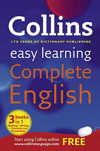 Collins Dictionary, Collins Easy Learning Complete English (Collins Easy Learnin