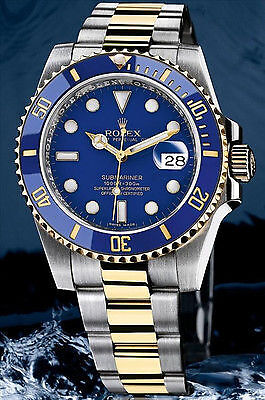 The two-tone Rolex Submariner 116613lb.