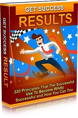 Get Success Results  - 220 Principles  PDF eBook Resell Rights + 10 Free Ebooks