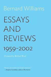 essays and reviews bernard williams