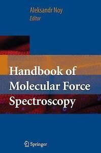 NEW Handbook of Molecular Force Spectroscopy