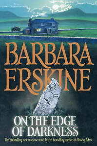 """VERY GOOD"" On the Edge of Darkness, Erskine, Barbara, Book"