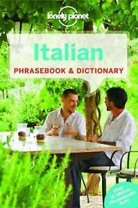 LONELY PLANET ITALIAN PHRASEBOOK & DICTIONARY - NEW