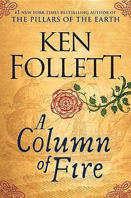 A Column Of Fire  (exlib) By Ken Follett
