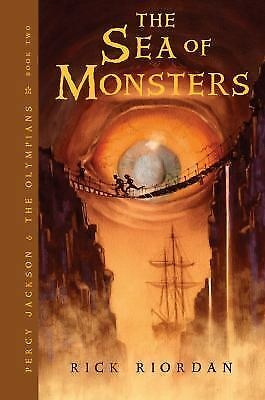 The Sea of Monsters (Percy Jackson and the Olympians, Book 2) by Riordan, Rick for sale  Shipping to India