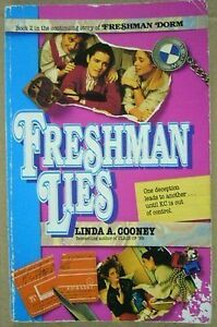Freshman Lies-Linda Cooney-Young adult book