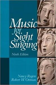 Music for Sight Singing 9th Edition