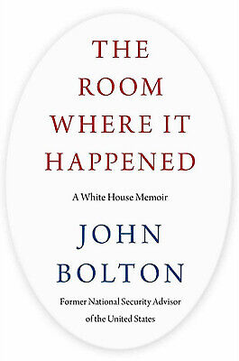 🎁 The Room Where It Happened a White House Memoir By John Bolton ✅Get it FAST✅