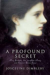 A-Profound-Secret-by-Josceline-Dimbleby-Hardback-2004