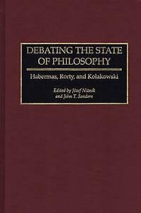 Debating the State of Philosophy, Jozef Niznik