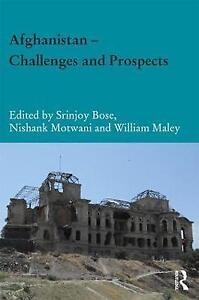 Afghanistan Challenges and Prospects by Taylor & Francis Ltd Hardback, 2017