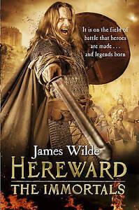 WILDE,JAMES-HEREWARD 5 THE IMMORTALS  BOOK NEW