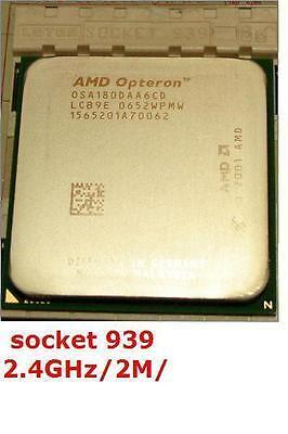 Opteron 180 OSA180DAA6CD 2.4GHz sockt 939 Dual Core(BETTER 4800+ ADA4800DAA6CD ) on Rummage