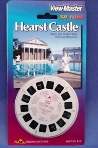 HEARST CASTLE - New View-master 3-reel Packet - 35023