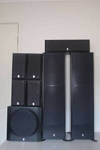 Yamaha Good Quality HT Series 7.1 Home Theater Speakers System Chadstone Monash Area Preview