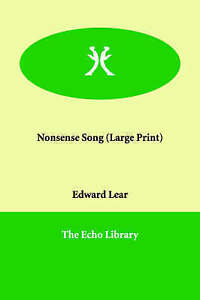 Nonsense Song by Lear, Edward