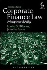 Corporate Finance Law Principles and Policy 2nd Edition