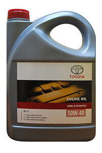 Genuine Toyota 15W40 Chevron Texaco Engine Motor Oil 5 litre 5L 15 40 Original